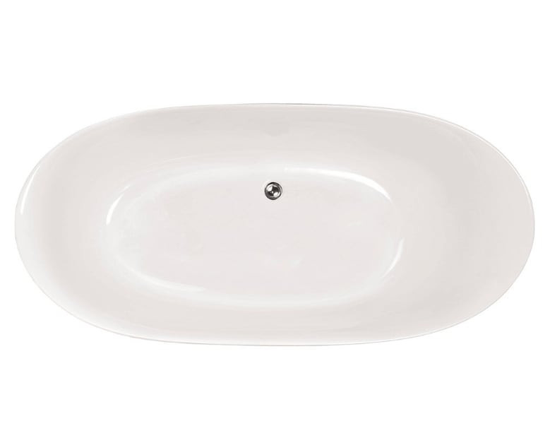 Bathlife Badkar Ideal Oval Vit