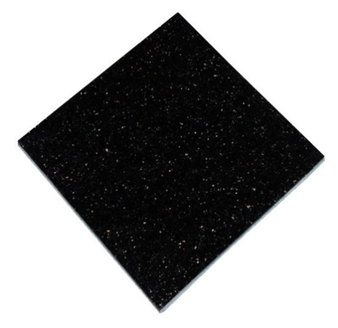 Black Galaxy polerad granit 305x305x10 mm
