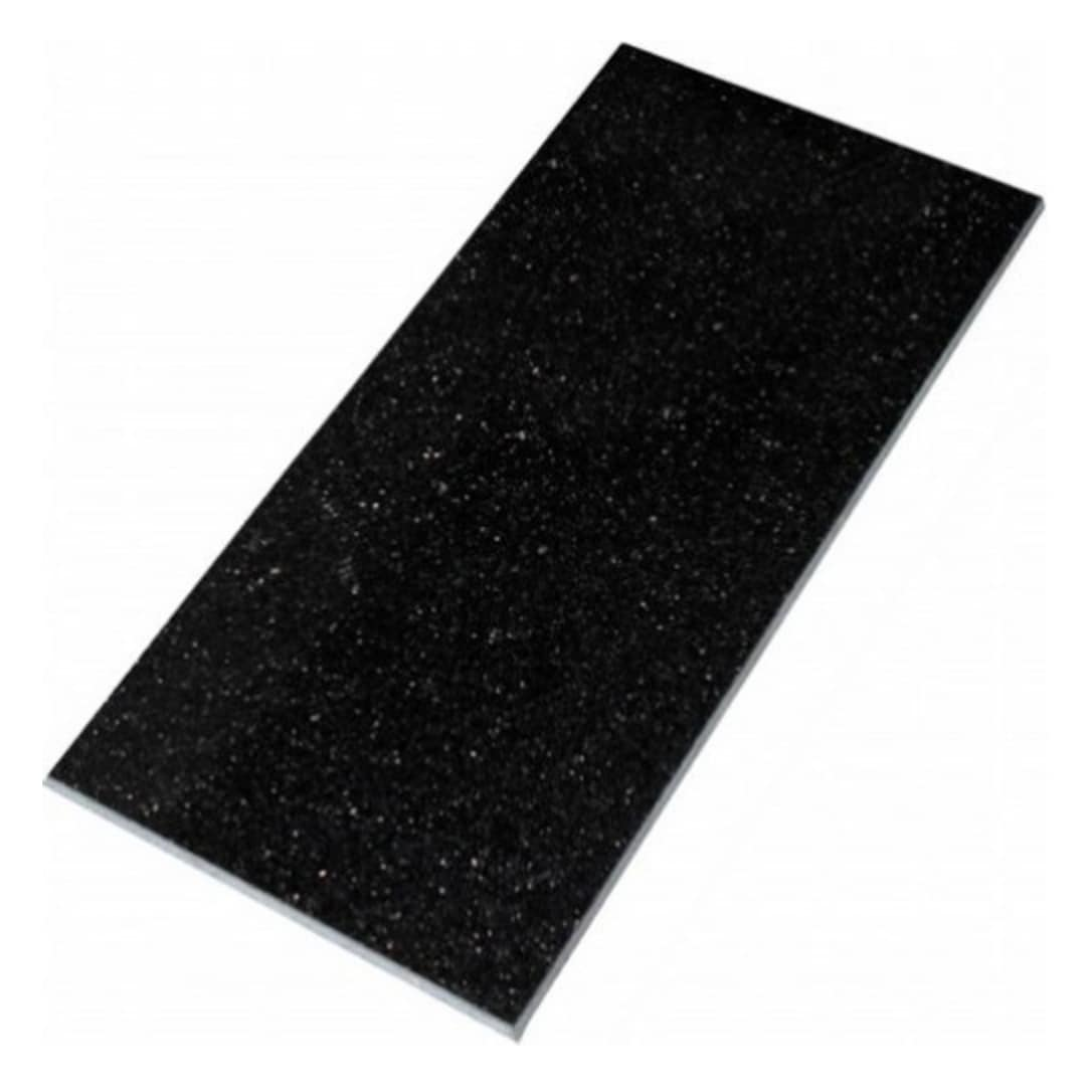Black Galaxy polerad granit 305x610x10 mm