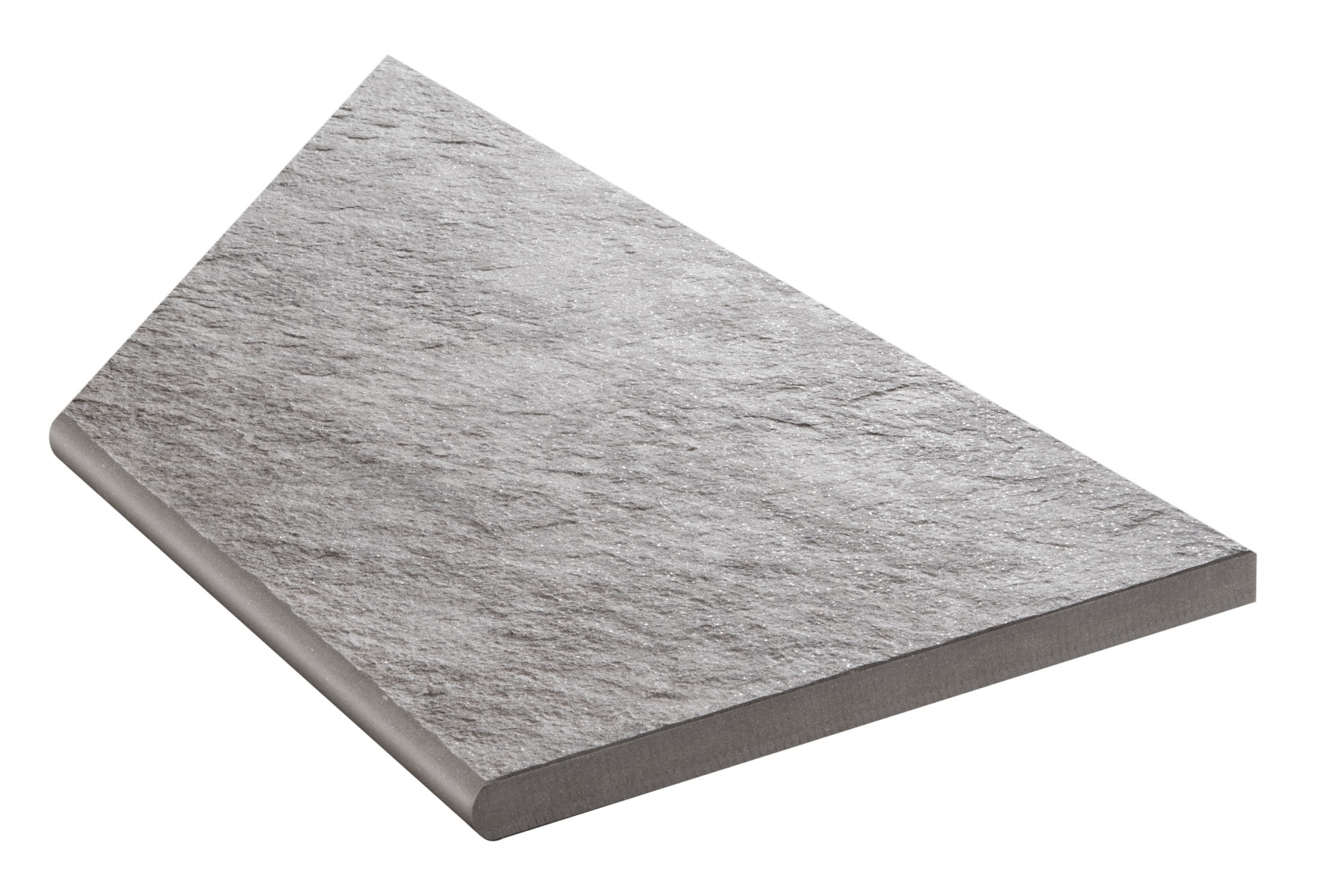 Bricmate Quartzit Grey Inner Corner Right 291x595 mm