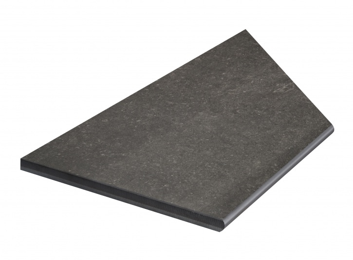 Bricmate Limestone Anthracite Inner Corner Left 297x596 mm