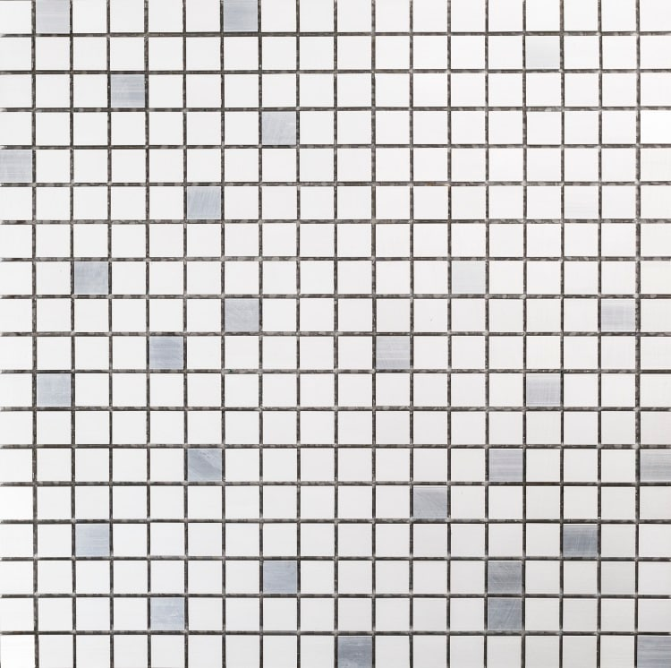 Collection Mosaik Aluminium Silver 15x15 mm