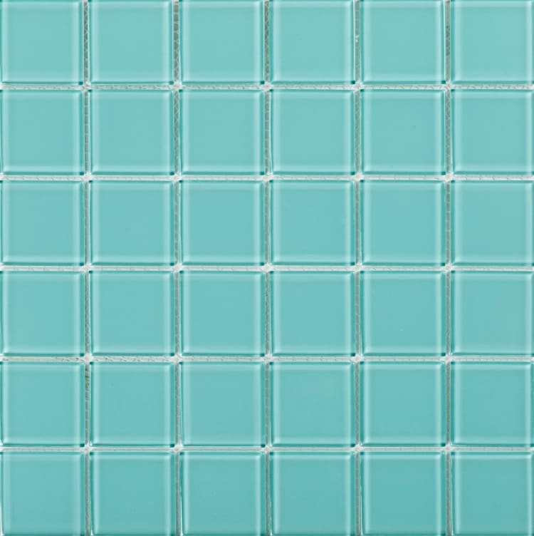 Collection Mosaik Pure Glass Ocean 48x48 mm (298x298 mm)