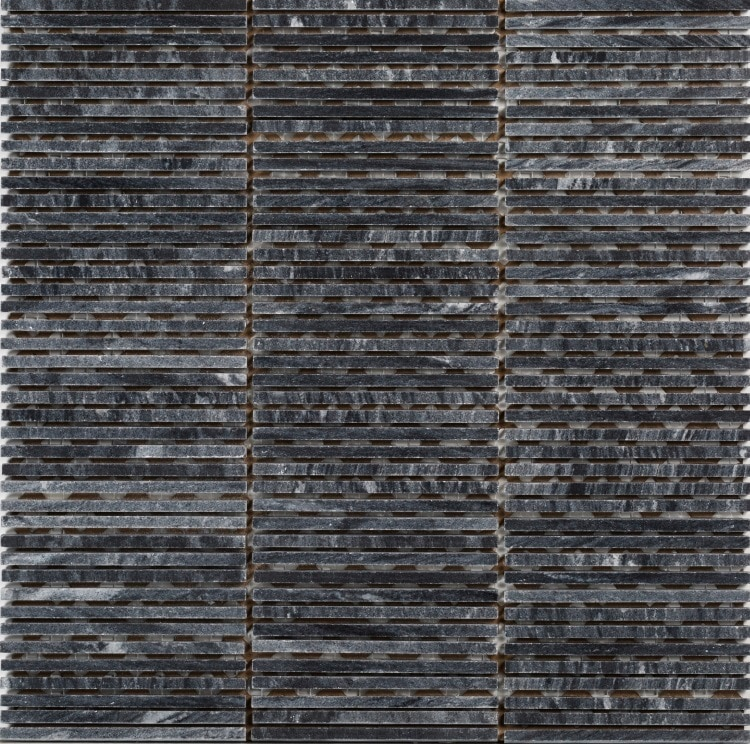 Collection Mosaik Wood Black 5x100x7 (305x305) mm