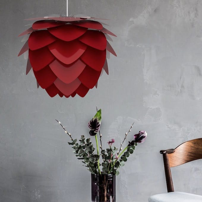 Lampa - UMAGE Aluvia Ruby Red