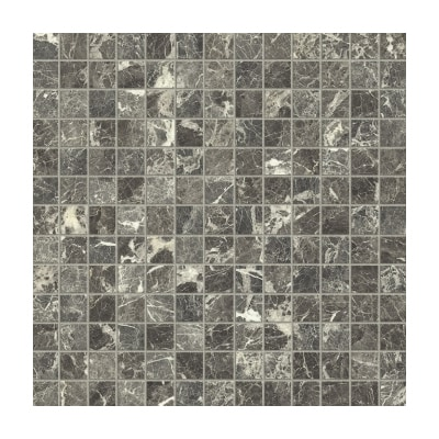 Lhådös Kakel Royal Marble Grey Saint Laurent mosaik 2x2 (ark 30x30cm)