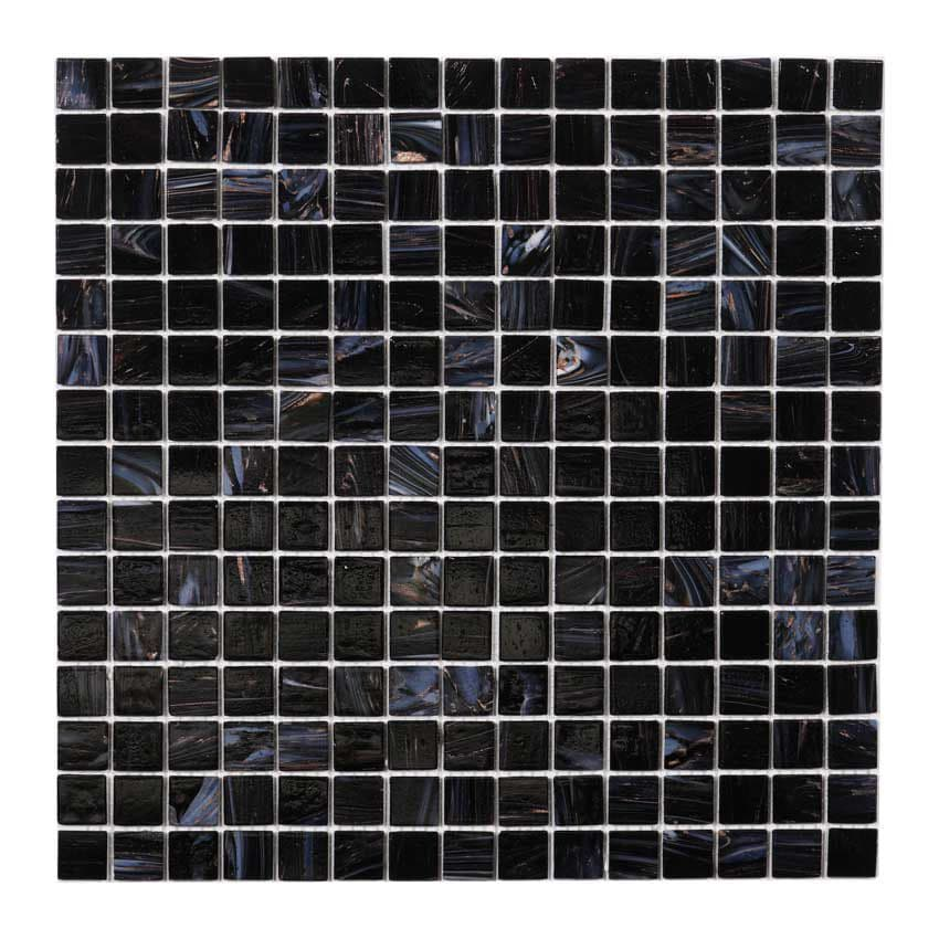 Tilemaster Glasmosaik Dark Heaven Gold 32,7x32,7