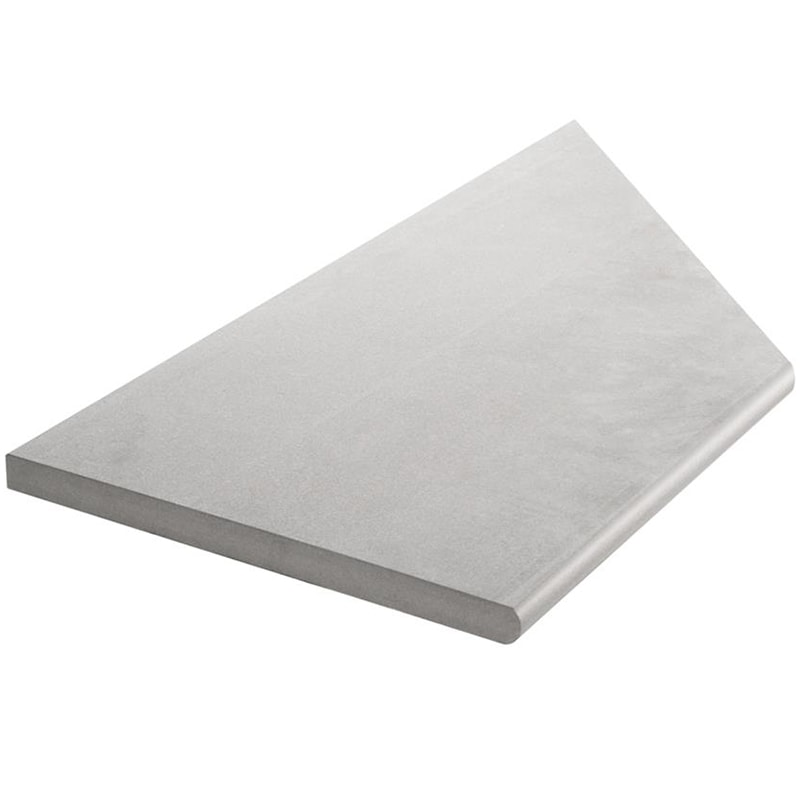 Bricmate Limestone Light Grey Inner Corner Left 297x596 mm