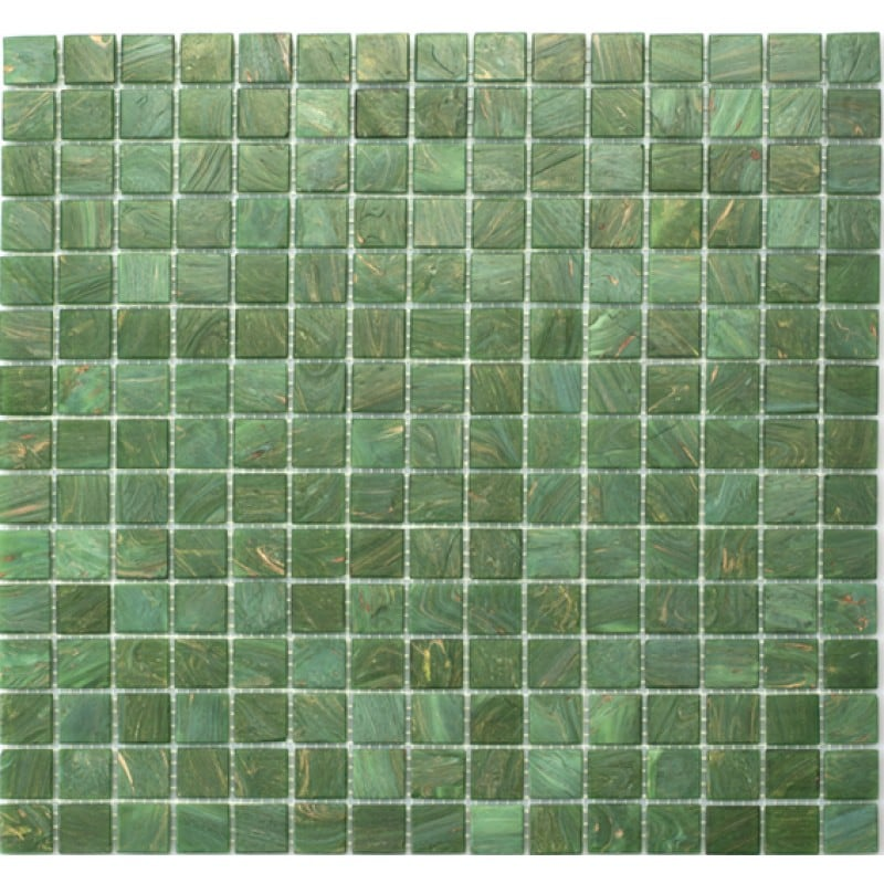 Arredo Glasmosaik Green/Gold 20x20 mm (325x325)