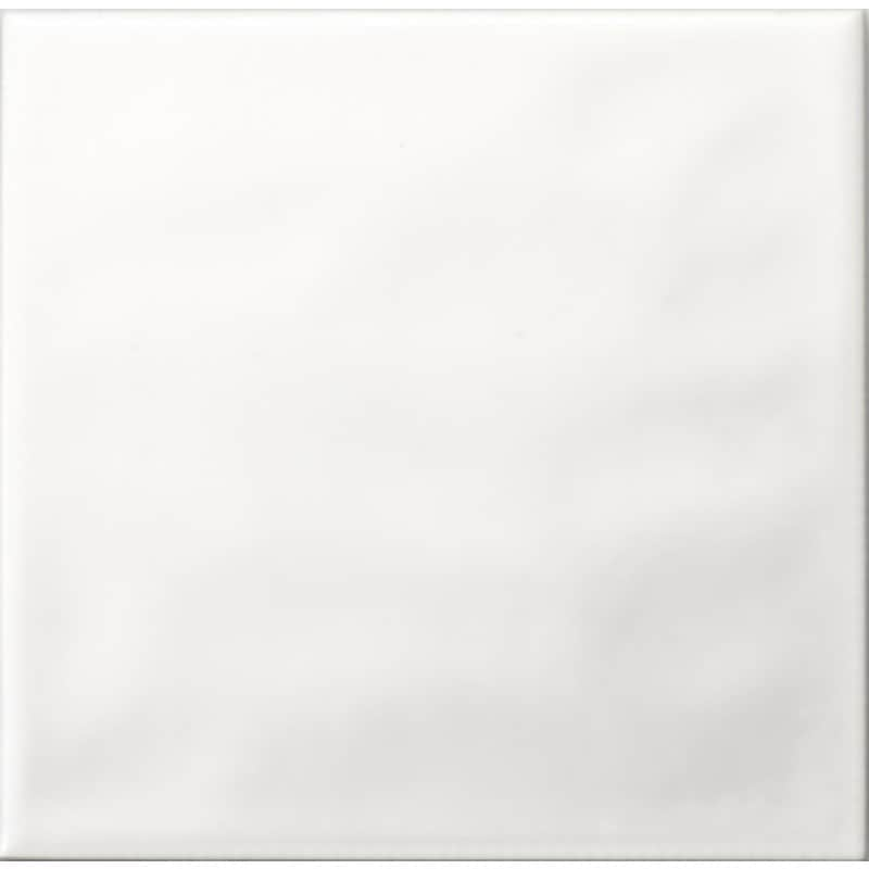 Arredo Kakel Color Vit Vågig Blank 150x150 mm