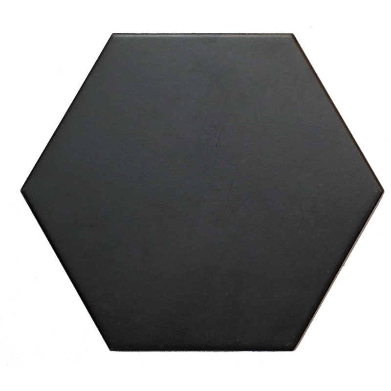Arredo Klinker Hexagon Black 175x202 mm