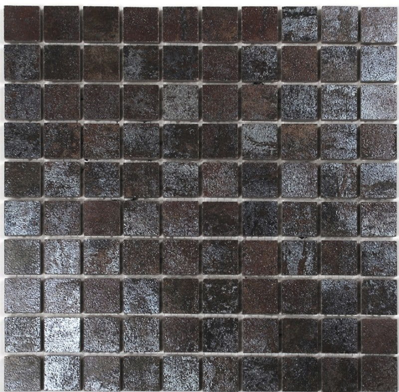Arredo Klinker Iron Rust Mosaik 28x28 mm Square