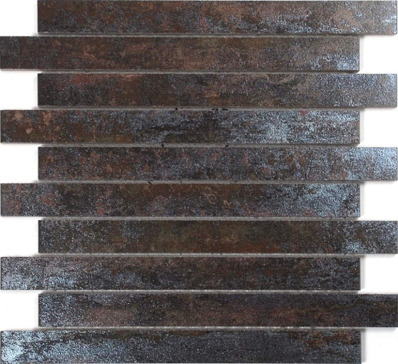 Arredo Klinker Iron Rust Mosaik 28x300 mm Brick
