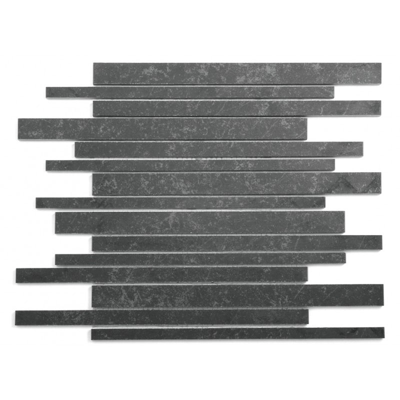 Arredo Klinker Quartz Black Mosaic 15x300 mm (300x300) Brick