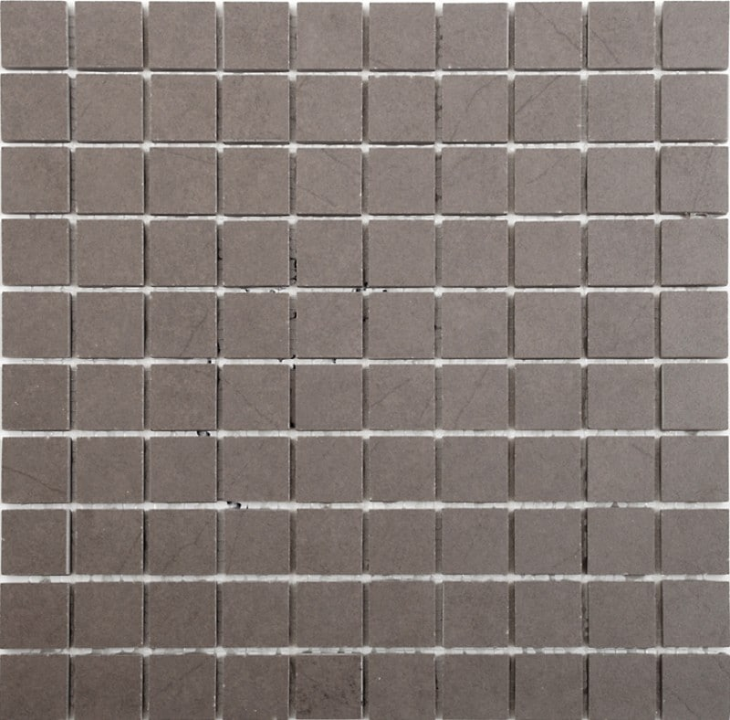 Arredo Klinker Quartz Brown Mosaic 28x28 mm (300x300)