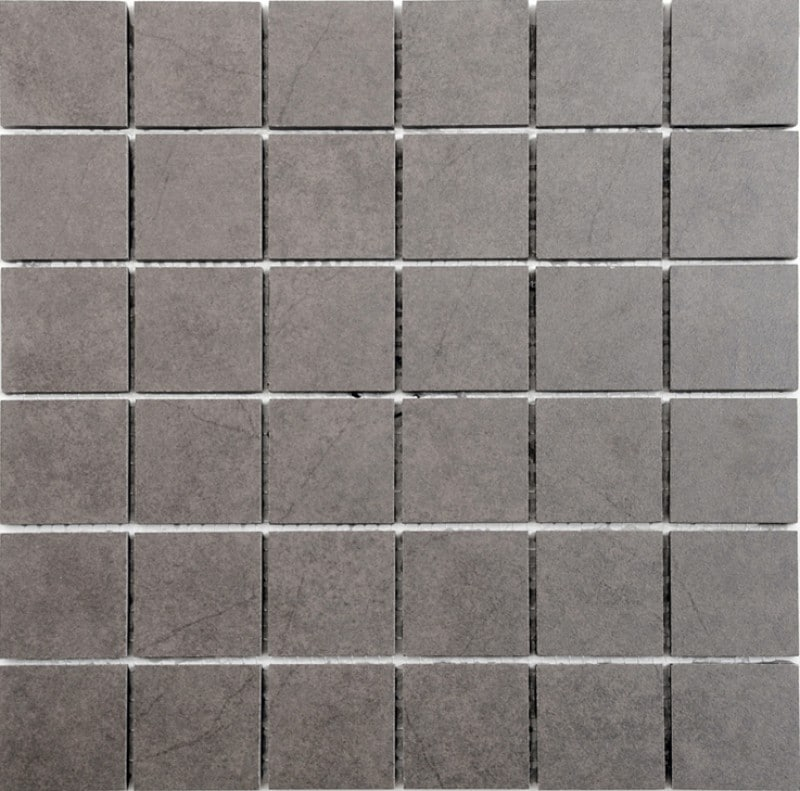 Arredo Klinker Quartz Brown Mosaic 48x48 mm
