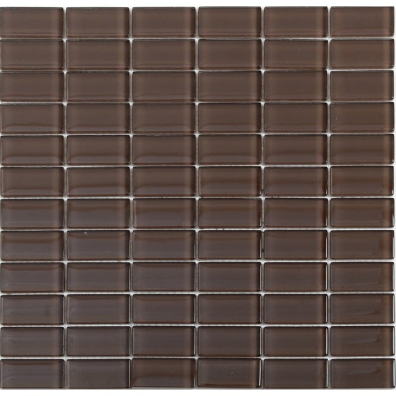 Arredo Kristallmosaik Blank 23x48x8 mm Brown