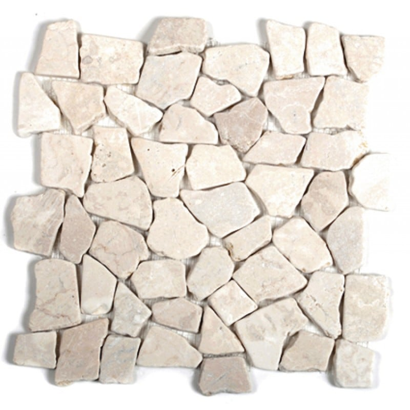 Arredo Natursten Stone Cobble Cream (interlock) (300x300)