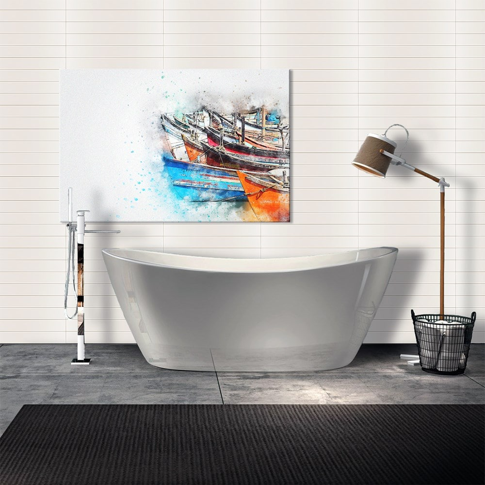 Bathlife Kakel Royal Vit Matt 73x600 mm