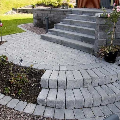 Benders Mursten Labyrint Maxi Antik Grafit 350x210x140 mm