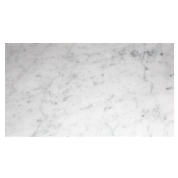Bianco Carrara C 610x305x10mm Polerad/Slipad