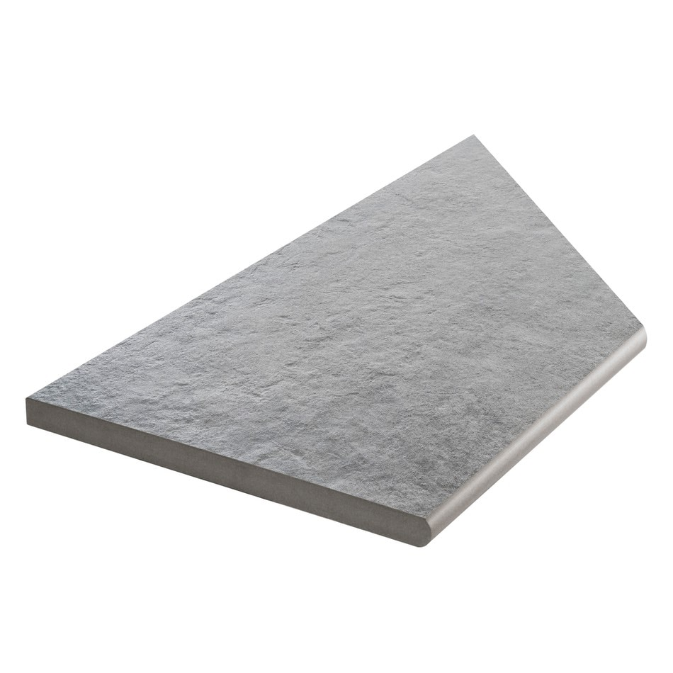 Bricmate Concrete Anthracite Inner Corner Left 298x598 mm