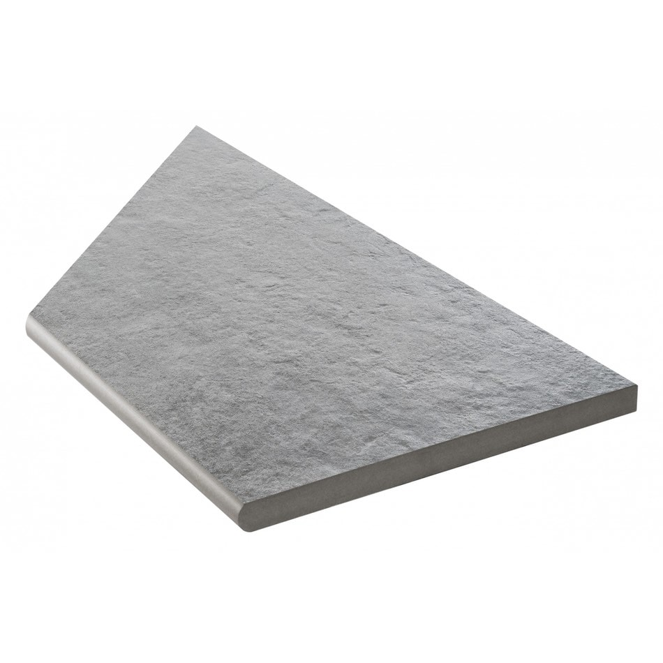 Bricmate Concrete Anthracite Inner Corner Right 298x598 mm