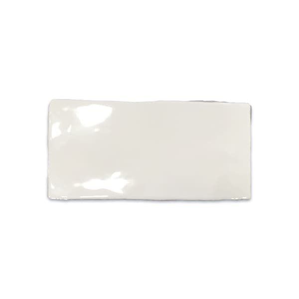 Hero Kakel Antique Blanco 7,5x15 cm Vitt