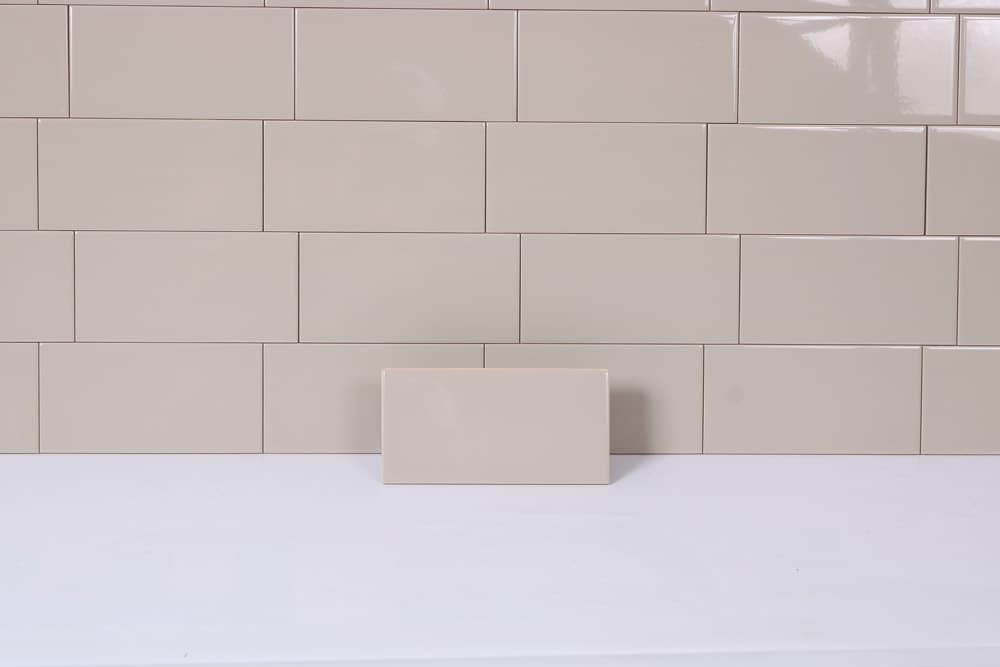 Tilemaster Kakel Plan Light Grey 10X20