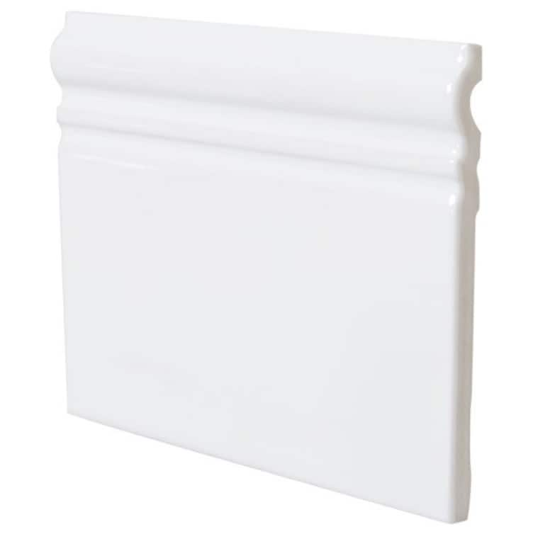 Konradssons Kakel EVOLUTION SKIRTING VIT BLANK 15x15 cm