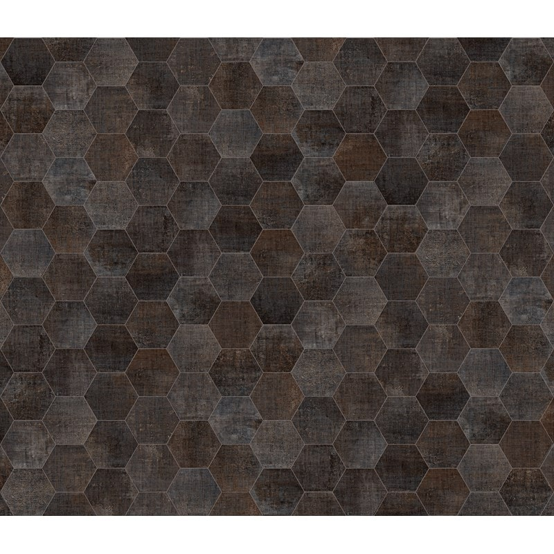 Konradssons Textile Hexagon Antracit 20x25cm
