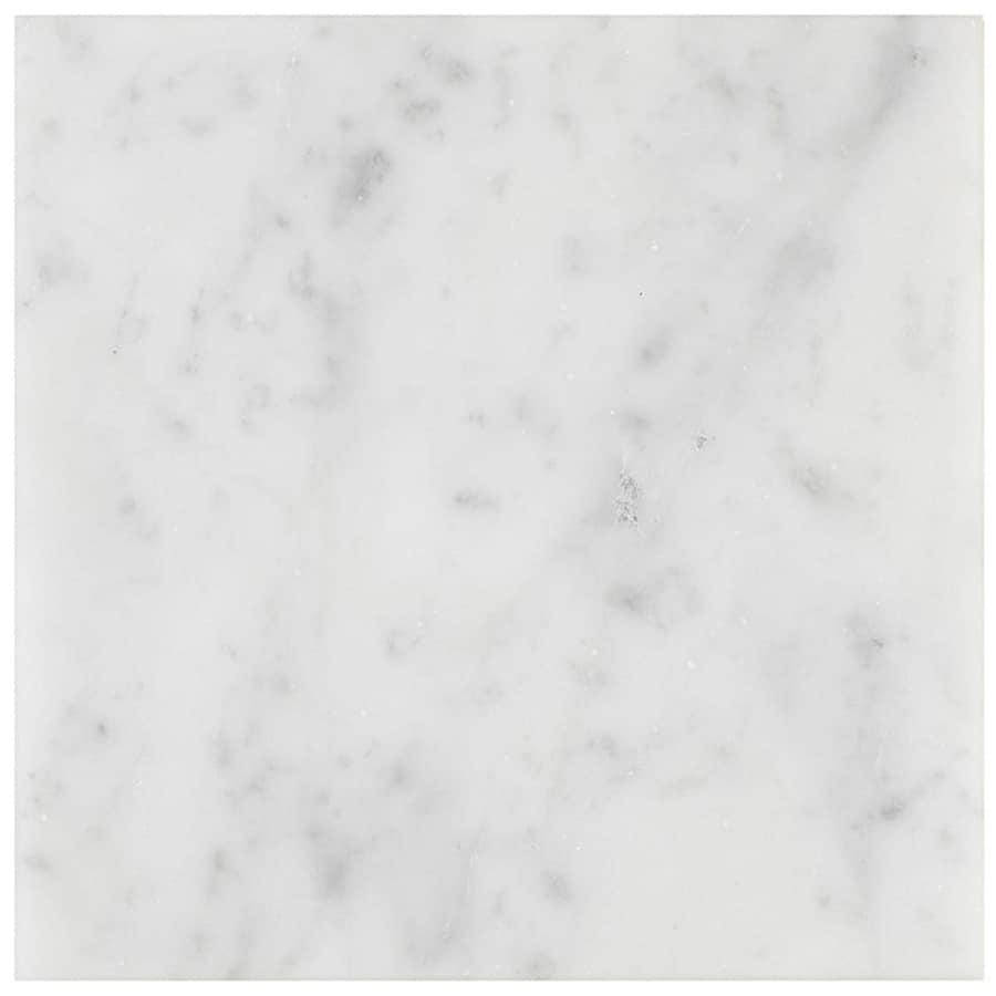 Marmor Bianco Carrara C Honed 152x152 mm