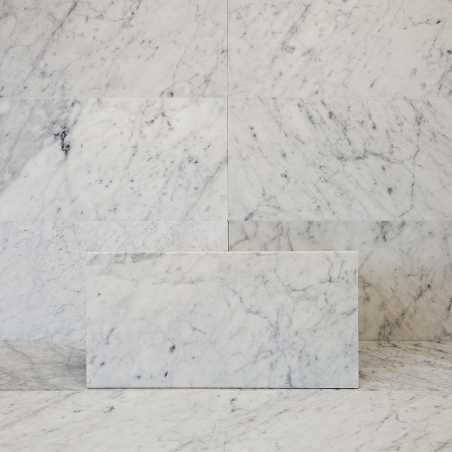 Marmor Bianco Carrara C Honed 305x610 mm