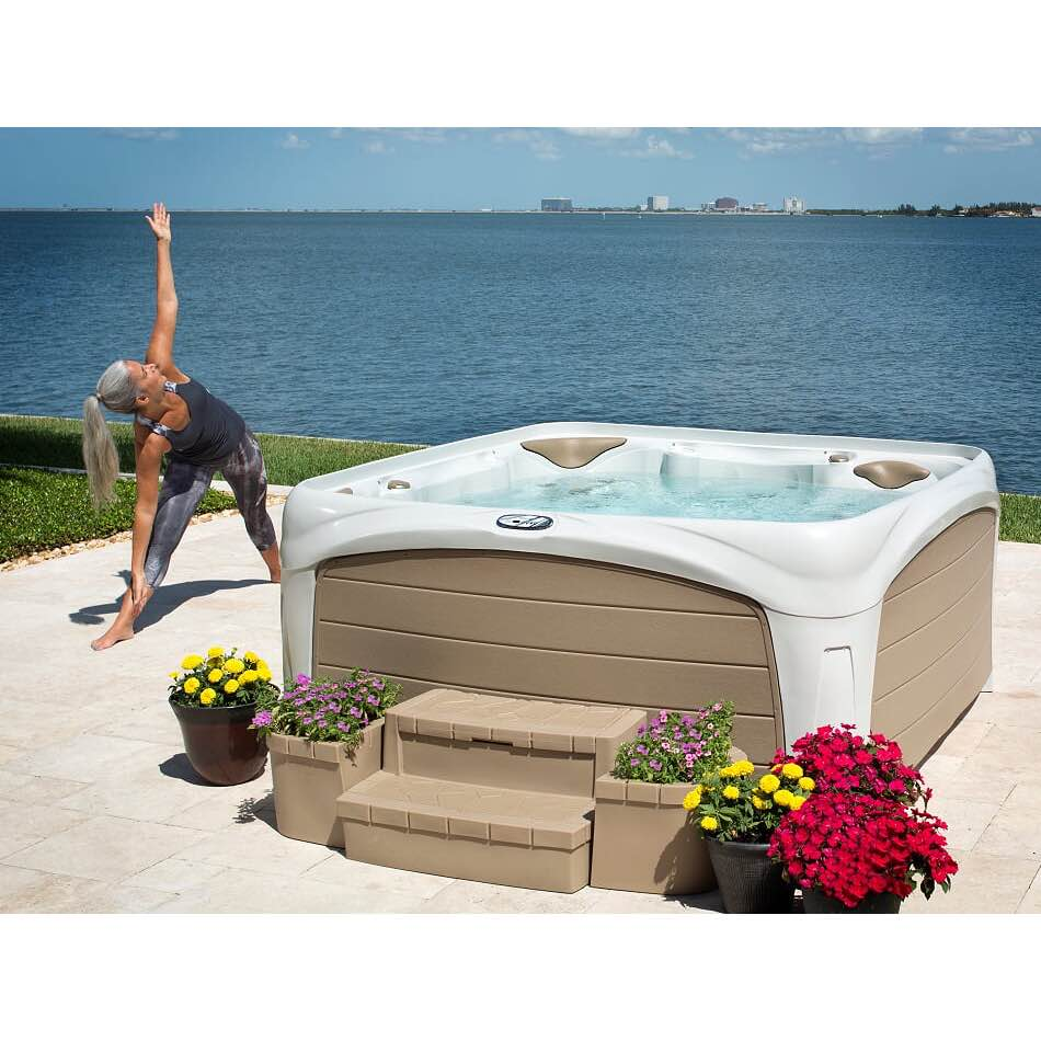 Spaexperten Dreammaker Crossover 730L White Diamond/Grey Panels