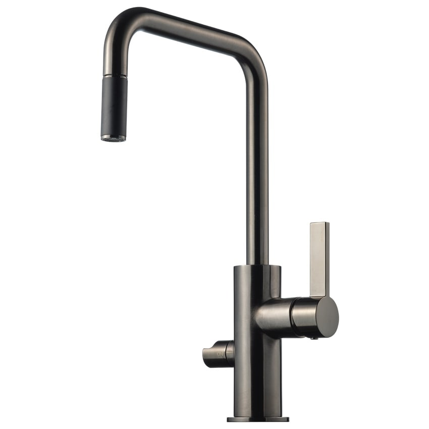 Tapwell Köksblandare ARM887 Brushed Black Chrome