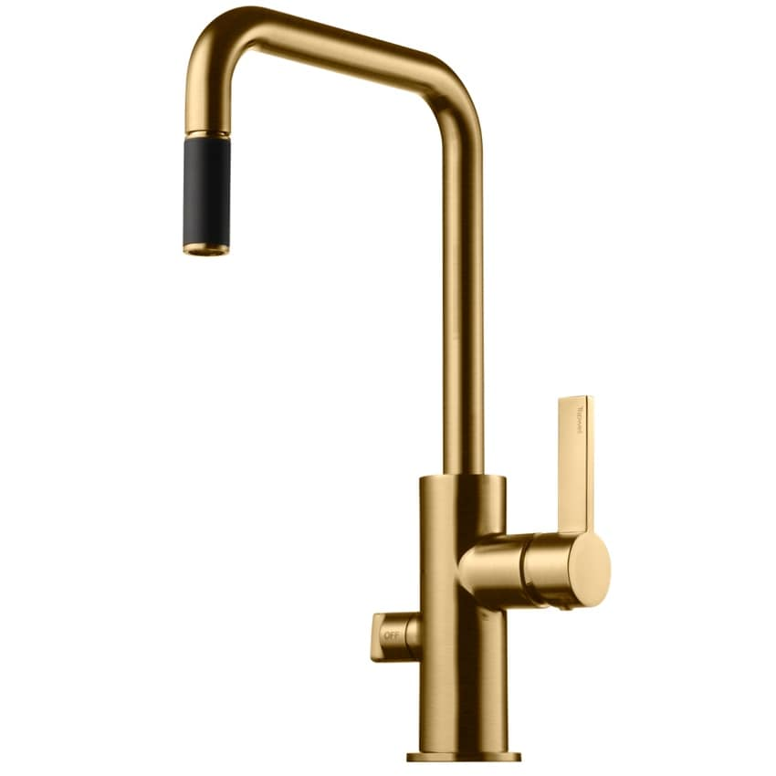 Tapwell Köksblandare ARM887 Brushed Honey Gold