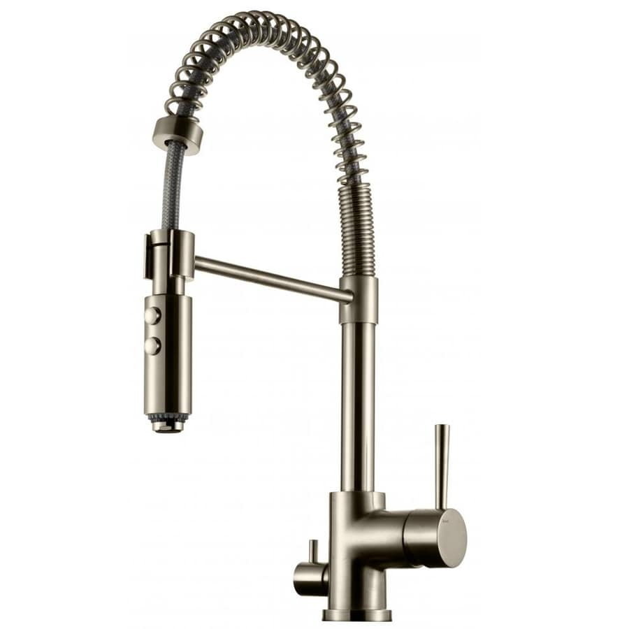 Tapwell Köksblandare EVO 186 Brushed Nickel