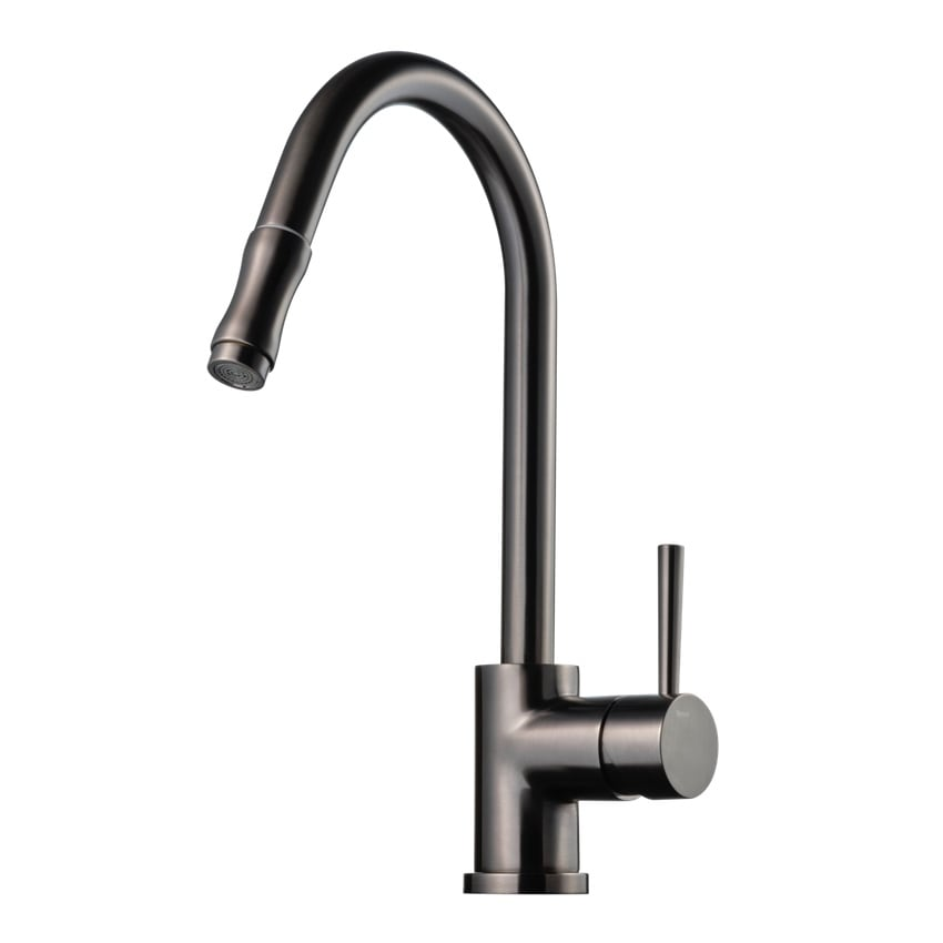 Tapwell Köksblandare EVO185 Brushed Black Chrome