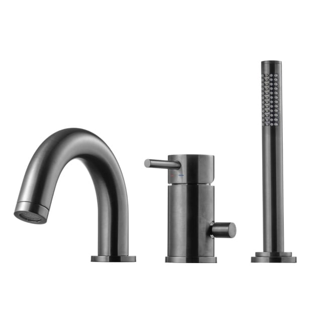 Tapwell Sargblandare BI047 Brushed Black Chrome