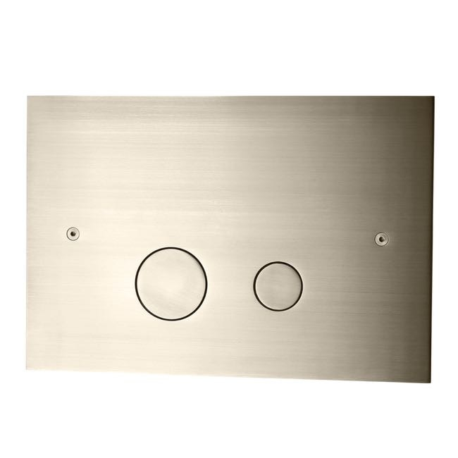 Tapwell Spolknapp DUO112 Brushed Nickel
