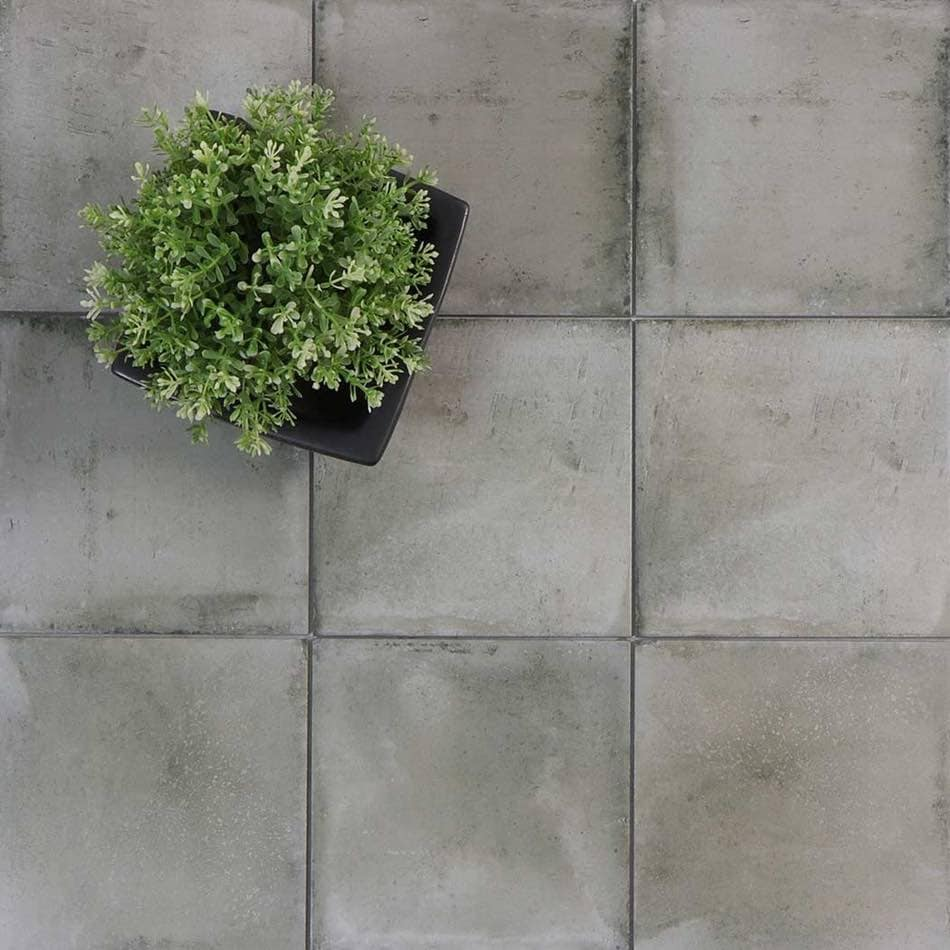 Tenfors Klinker Form Grey 20x20 cm