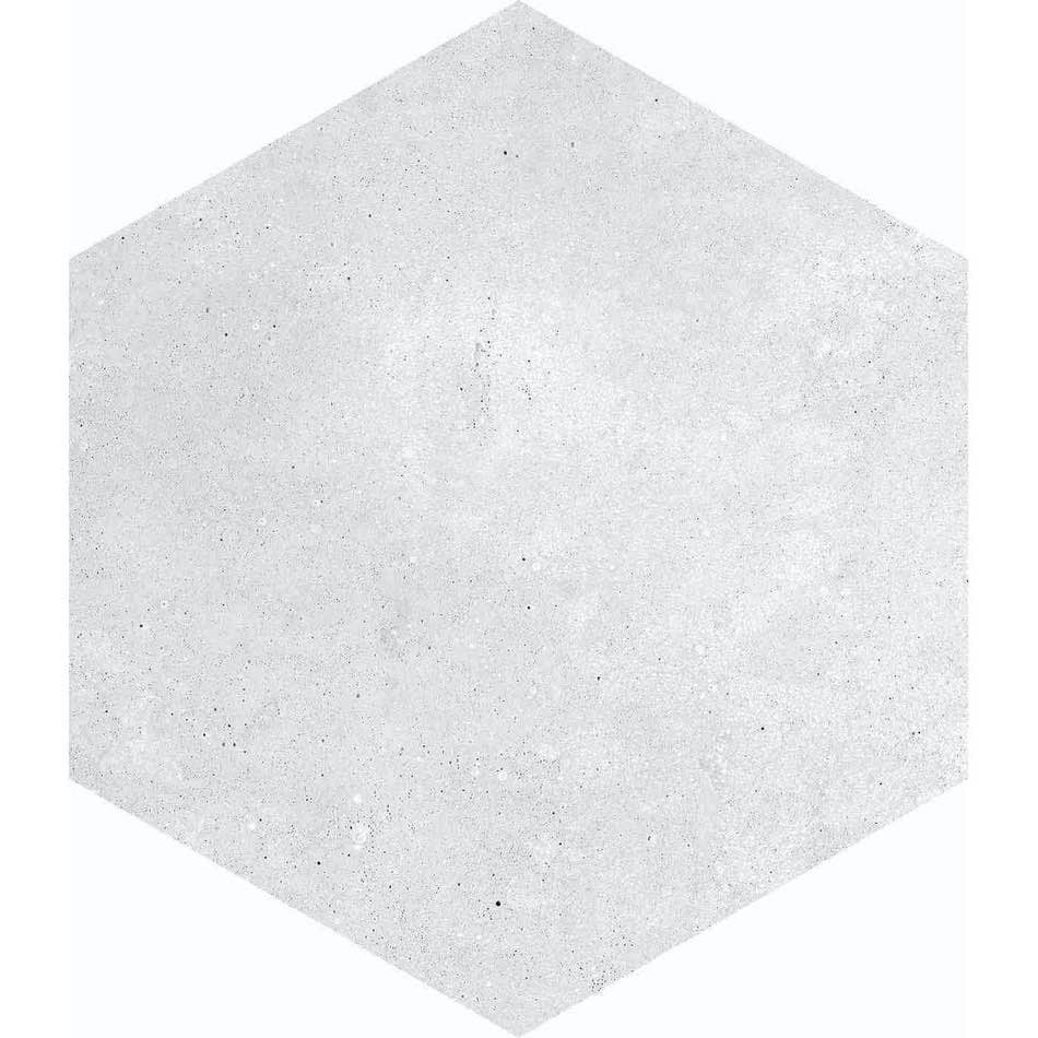 Tenfors Klinker Hexagon Rift Blanco 23x26,6