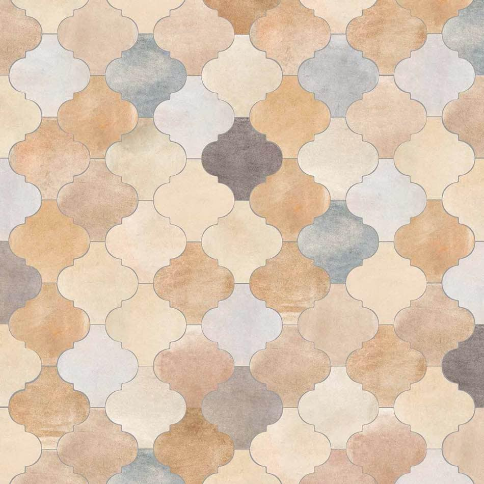 Tenfors Klinker Provenzal Cameley Multicolor 20x20