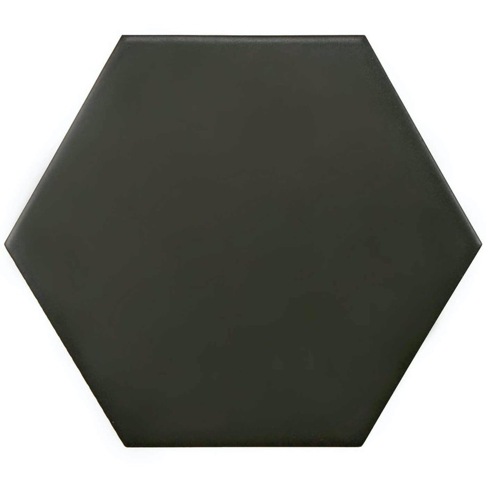 Tenfors Klinker Twist Hexagon Black 14,2X16,4 cm