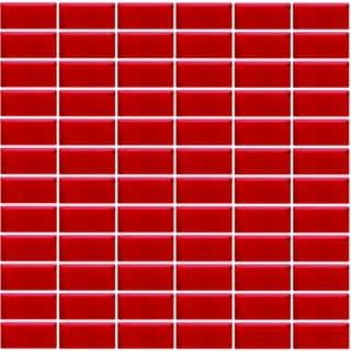 Bricmate Kakel S4898 Red Mosaik 48x98 mm